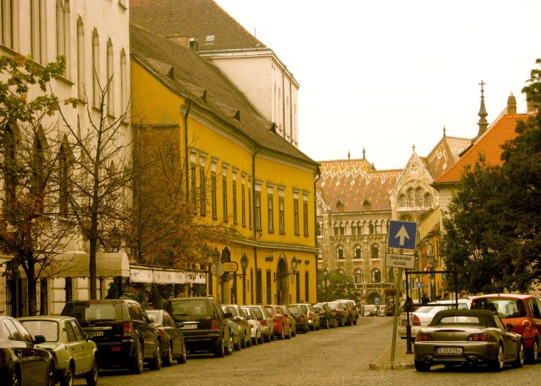 Budapest Buda town
