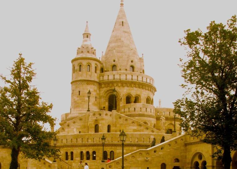 Budapest Fisherman's Bastion 1
