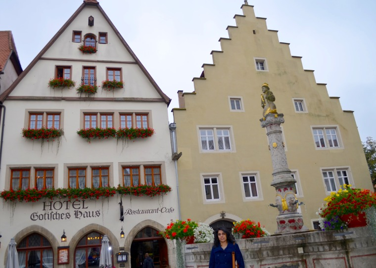 Gotisches Haus, Rothenberg ob der Tauber 1