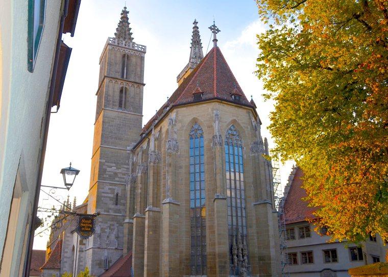 Jakobskirche, Rothenberg ob der Tauber