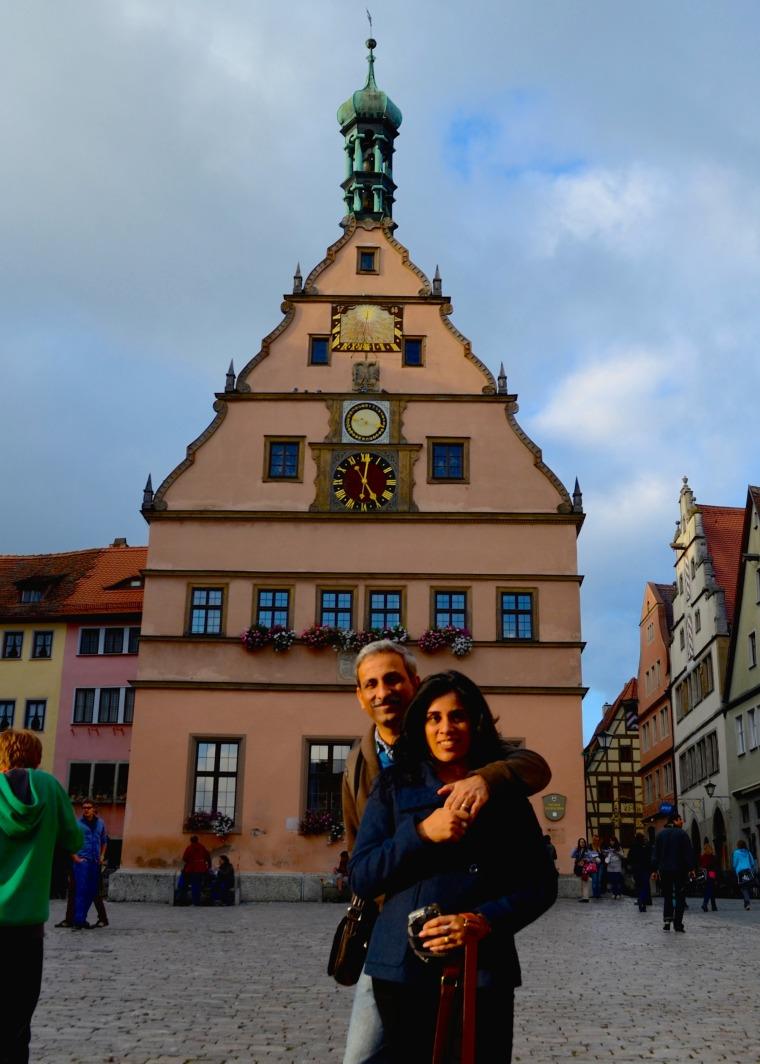 Marktplatz, Rothenberg ob der tauber 1