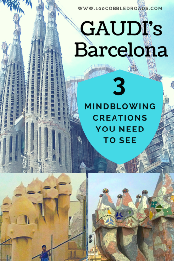 Gaudi's Barcelona: 3 mindblowing creations you need to see