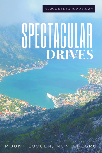Spectacular drive to Mount Lovcen, Montenegro