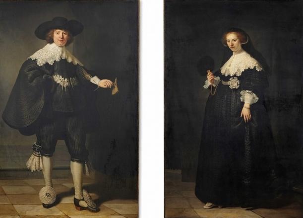 Rembrandt, Marten Soolmans & Oopjen Coppit