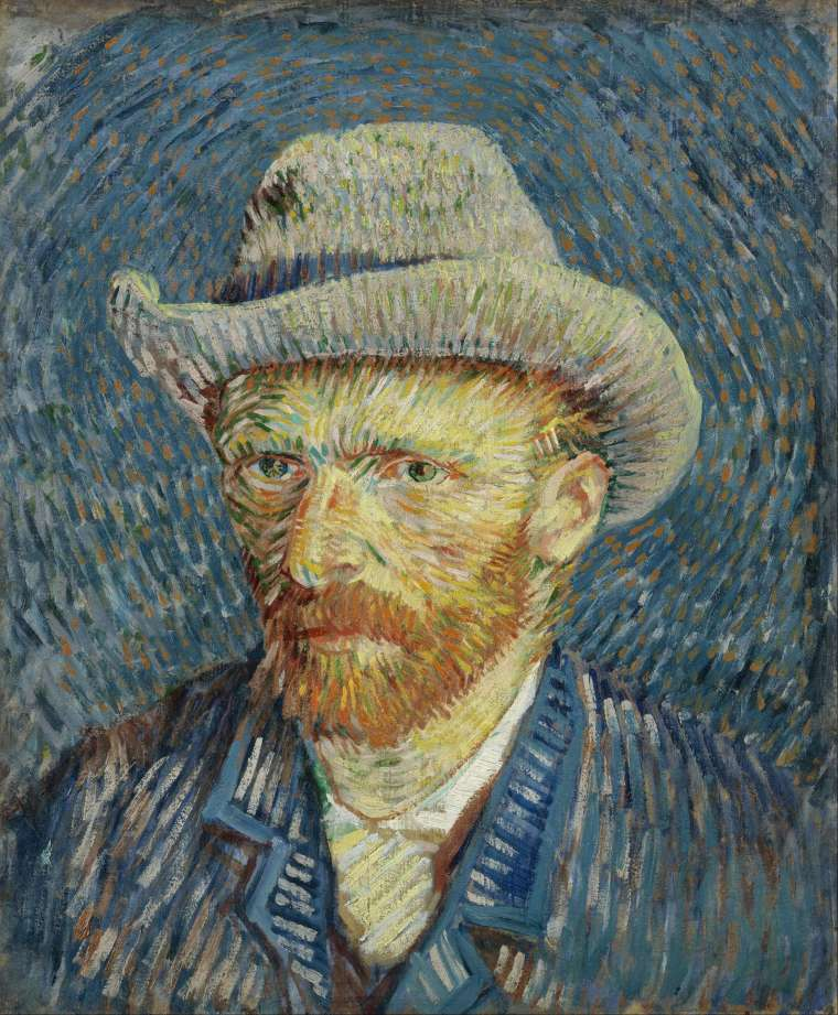 Van Gogh-self portrait