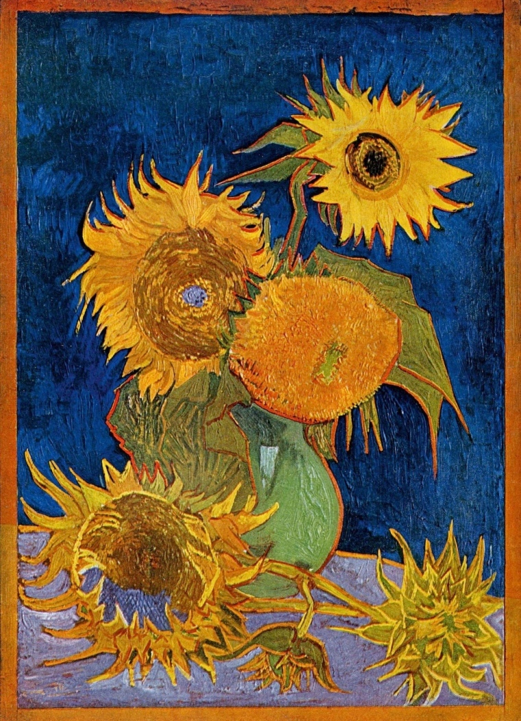 Van Gogh-Six Sunflowers