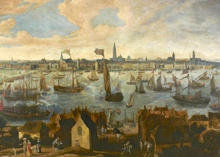 Antwerp painting Bonaventura Peeters.jpg