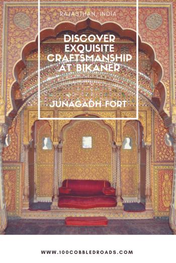 Discover exquisite craftsmanship at Bikaner