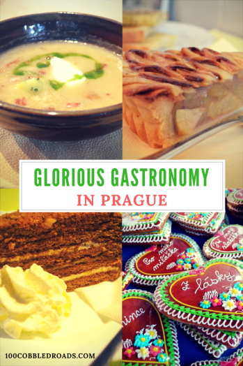 Glorious gastronomy in Prague