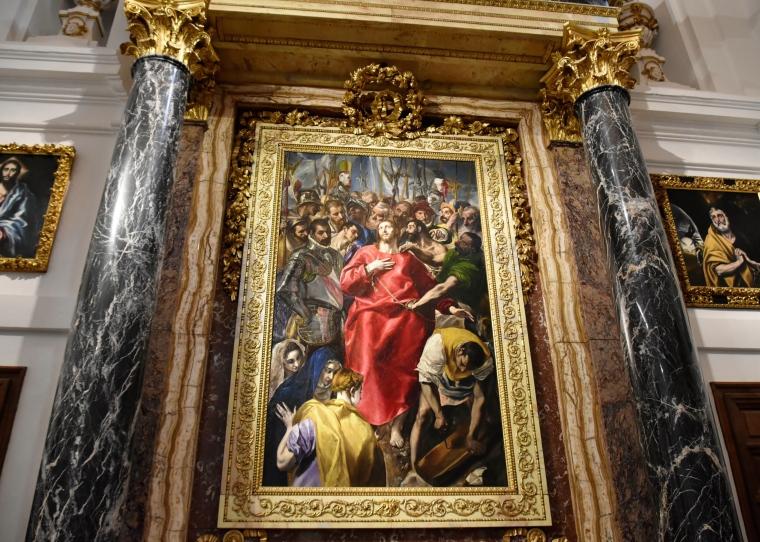 toledo cathedral greco