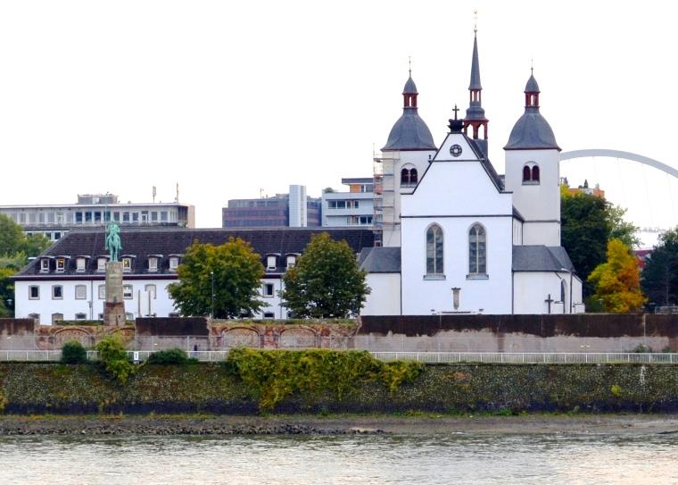 Cologne Rhine cruise, Germany 1