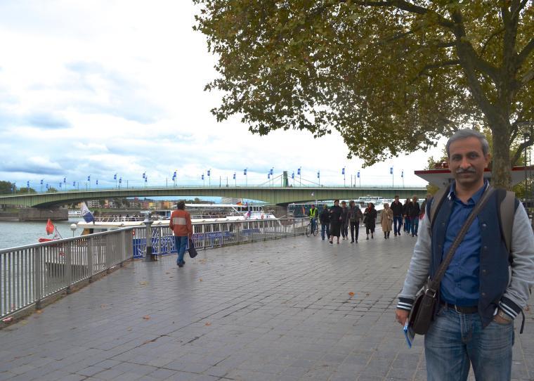 Cologne Rhine promenade, Germany 1