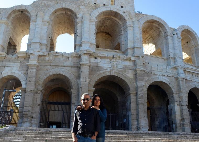 Arles colosseum, France