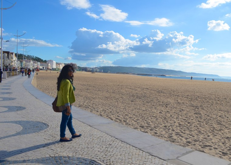Nazare beach, Portugal 1