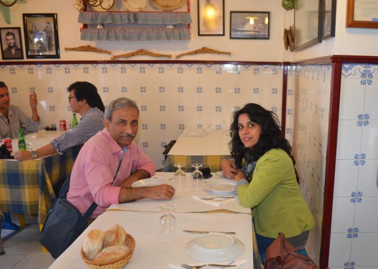 Rosa Dos Ventos restaurant, Nazare, Portugal 1