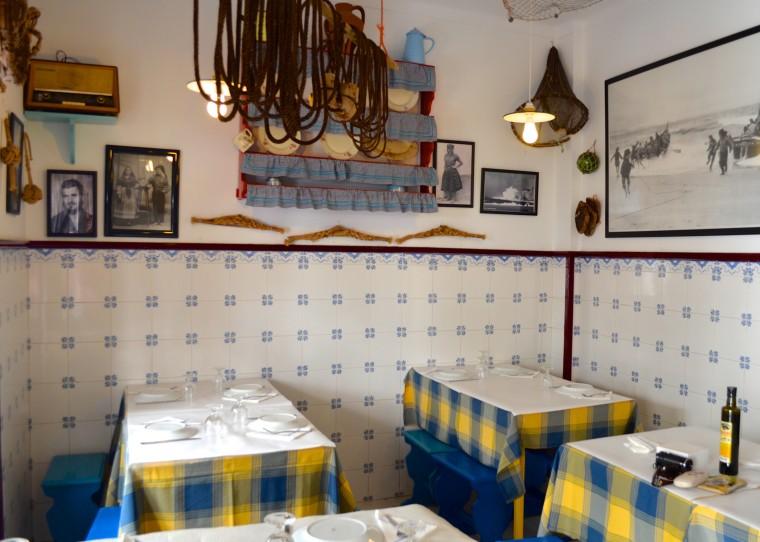Rosa Dos Ventos restaurant, Nazare, Portugal 2