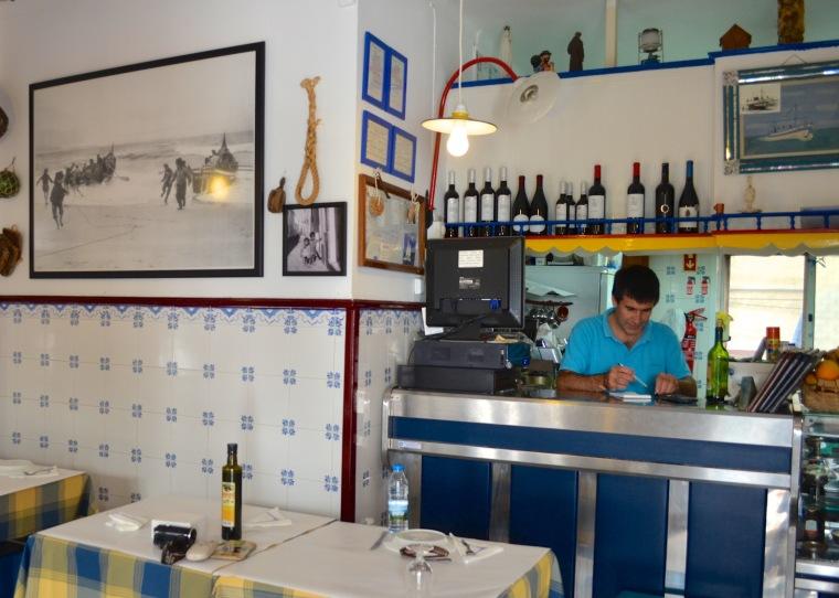 Rosa Dos Ventos restaurant, Nazare, Portugal 3