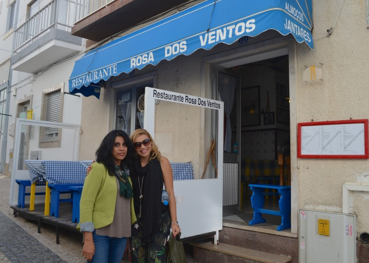 Rosa Dos Ventos restaurant, Nazare, Portugal 5