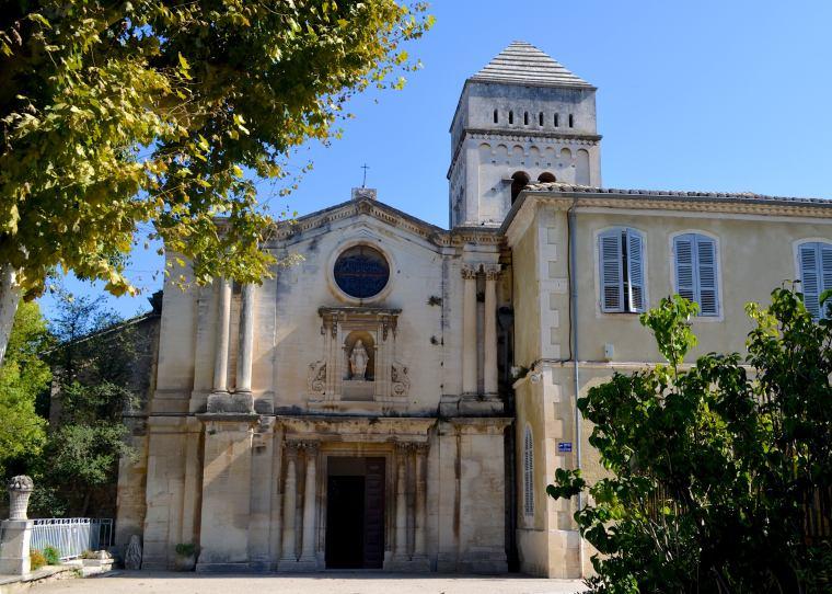 Saint-Paul Asylum, Saint-Rémy, France 1