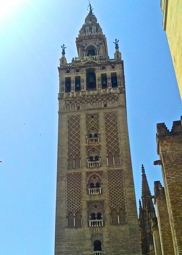 Seville Cathedral Giralda 1 .JPG