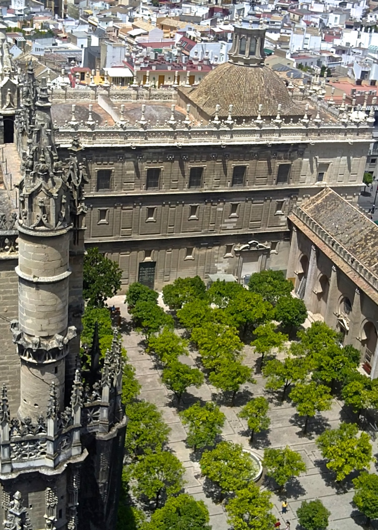 Seville Cathedral Giralda 4
