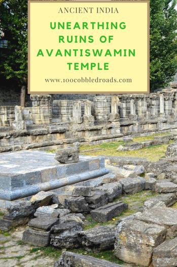 Discover Kashmir's 1100 year old Avantiswami temple