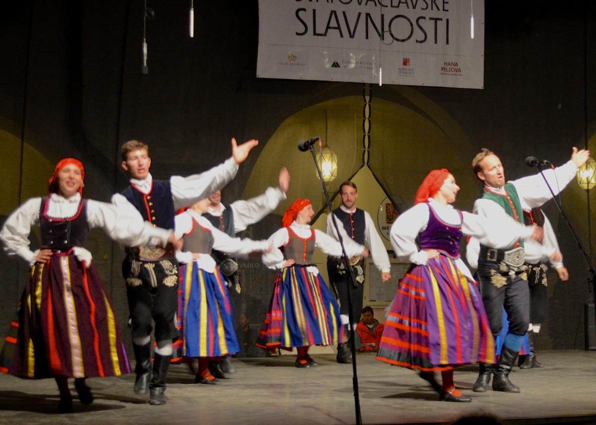High energy folklore spirit at Wenceslas festival