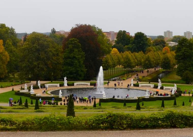 Grand Fountain, Sanssouci Park 1
