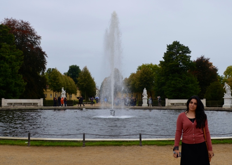Grand Fountain, Sanssouci Park