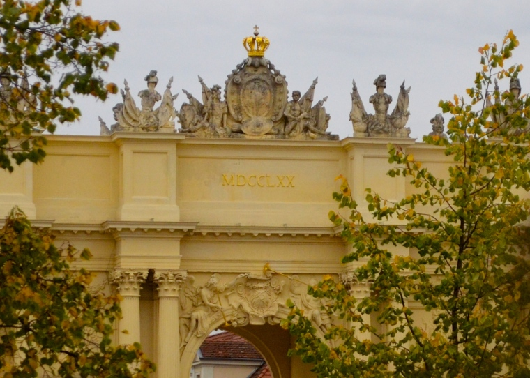 Potsdam city gate