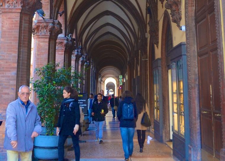 Bologna porticoes 7