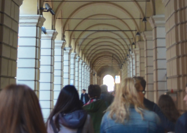 Bologna porticoes 8