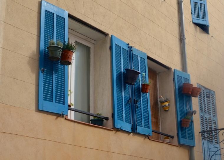 Marseilles_Le Panier_houses