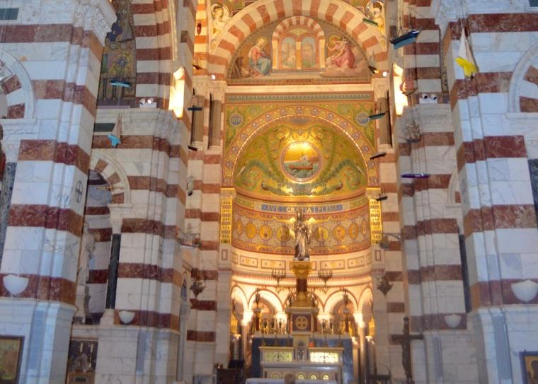 Marseilles_Notre Dame de la Garde_inside