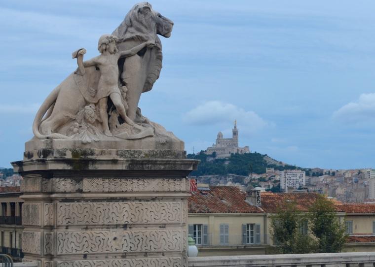 Marseilles_Notre Dame de la Garde_scene