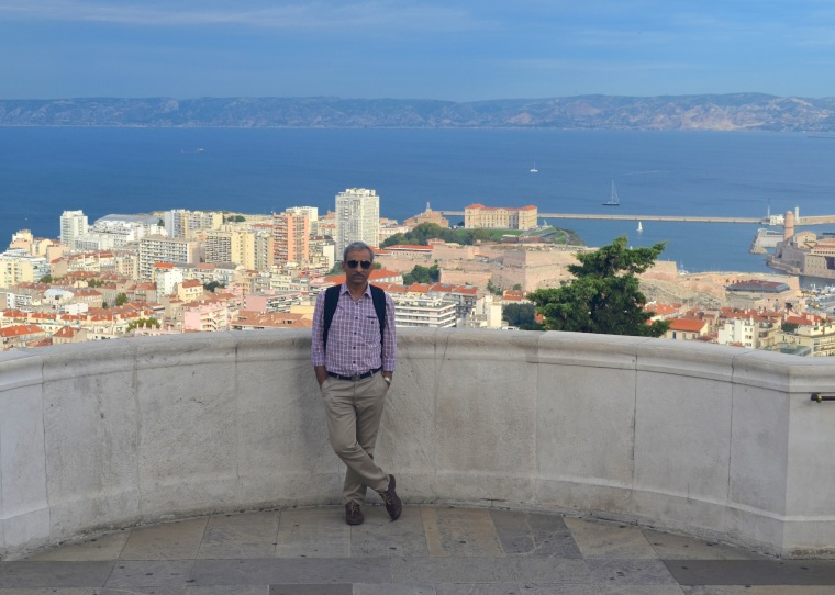 Marseilles_Notre Dame de la Garde_viewpoint