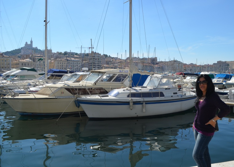 Marseilles_Vieux Port_Garde Hill