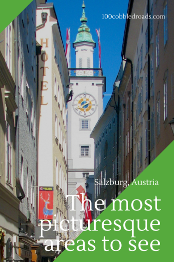 Walking treasures in the town of Salzburg, Austria