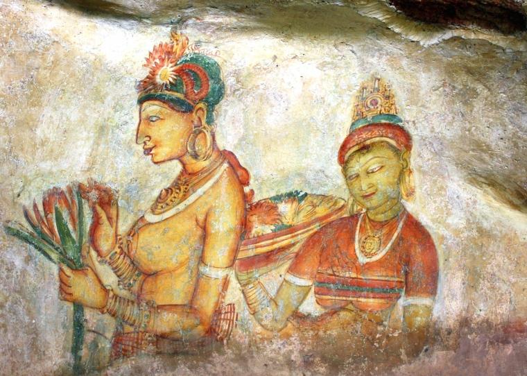 Сігірія_Фрески_Sigiriya_Sri_Lanka_Frescos_09.JPG