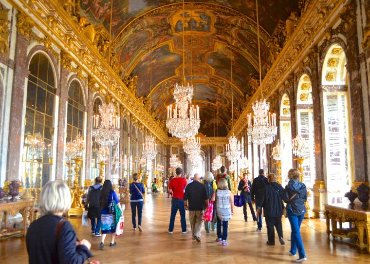 Hall of Mirrors_Versailles Palace_France_1