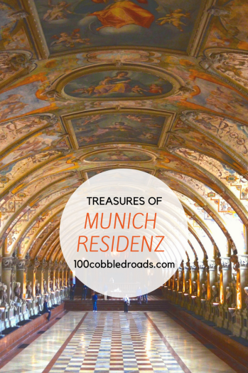 Touring the Residenz in Bavaria's capital…