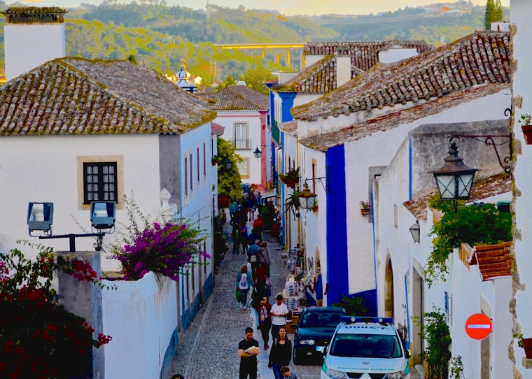 Town streets_Obidos_5