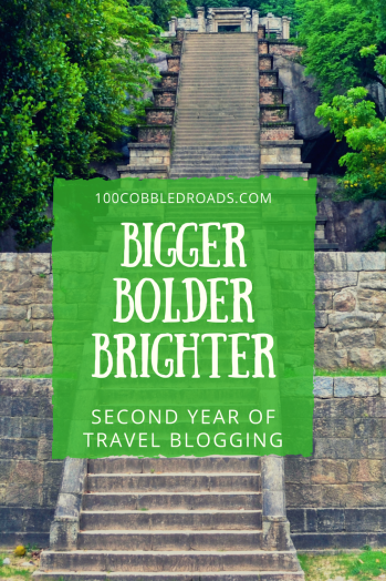 Making Year 2 of travel blogging can be a breeze with the right choices based on one's own tempo, goals and milestones. #travelblogging #travelwriting #blogeversary #travelbloggingtips #travelbloggingadvice