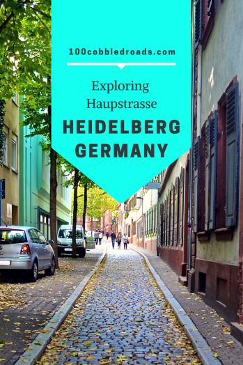 Discovering delights of Haupstrasse, Heidelberg #heidelberg +medievaltown #germantown
