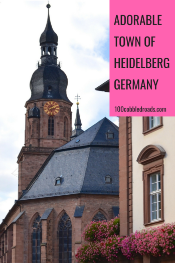 Blend into the old square of Heidelberg, one of the most adorable towns in Germany #germany #medieval town #german town #heidelberg