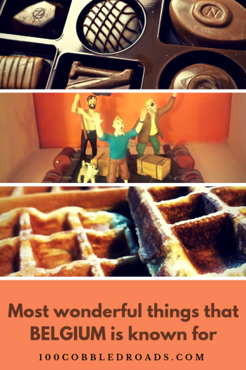 Comics, waffles and chocolates are the most wonderful things that of Belgium is known for #belgium #brussels #chocolate #waffles #foodculture #localfood