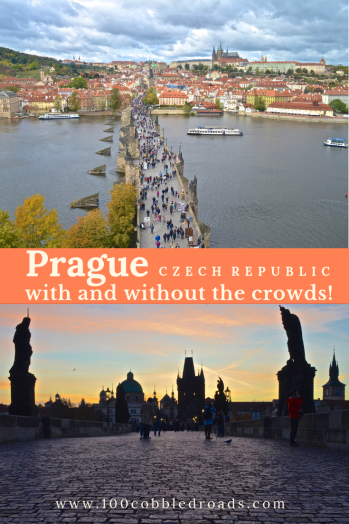Prague can be touristy and crowded or calm and serene. Find and love the twin vibes of the Czech capital. #prague #praha #czech capital #traveldeeper