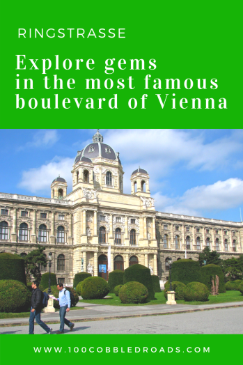 Ringstrasse, Vienna's 5-kilometer long, tree-lined horseshoe-boulevard circling the inner city, sports an ensemble of showpiece buildings for aristocrats, including Parliament and State Opera House, splendid parks, an array of museums. Here's a guide.  #vienna #ringstrasse #historic centre #Habsburg palace
