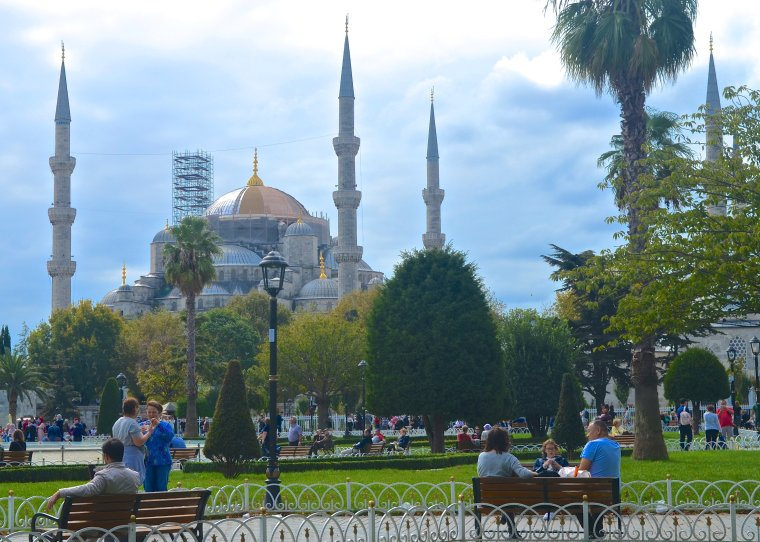 Blue Mosque_Sultanahmet_Istanbul_1