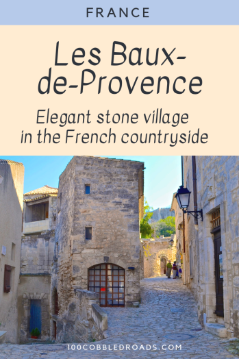 Provencal village of Les Baux-de-Provence #provence #southfrance #frenchcountryside #provencalvillage